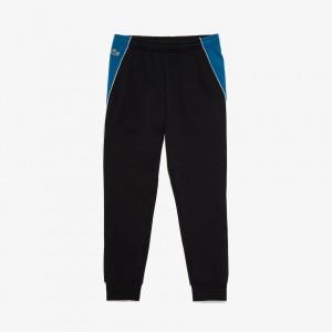 Mens SPORT Colorblock Bands Fleece Sweatpants