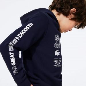 Boys' Signature Logos Cotton-Blend Hoodie
