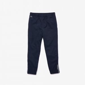 Boys Lacoste SPORT Piped Lightweight Trackpants