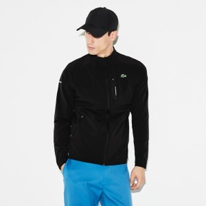Mens SPORT Technical Taffeta Zip Golf Jacket