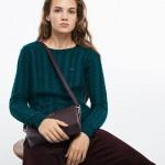 Womens Chantaco Pique Leather Square Shoulder Bag
