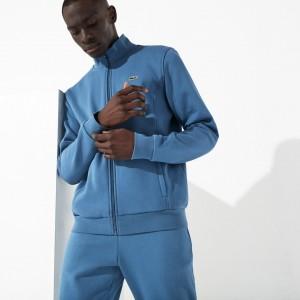 Mens SPORT zip-up fleece sweatshirt