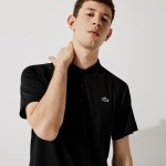 Mens SPORT Breathable Run-Resistant Interlock Polo Shirt