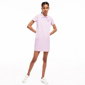 Womens LIVE Mini Pique Polo Dress
