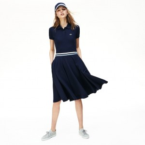 Womens Made In France Mid-Length Polo Dress