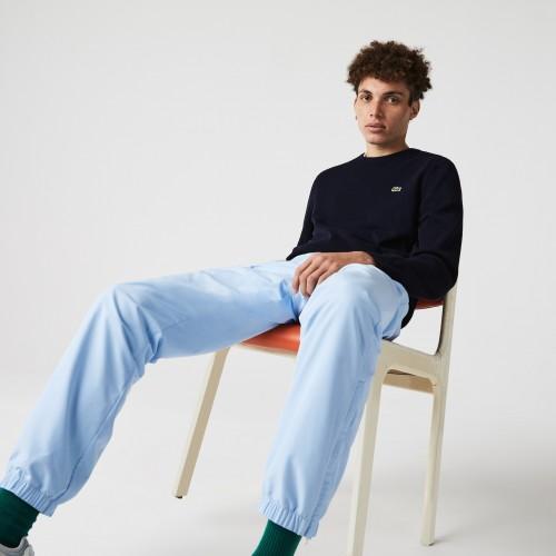 라코스테 Mens Organic Cotton Crew Neck Sweater