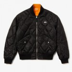 Unisex LIVE Reversible Quilted Bomber Jacket