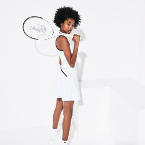 Womens SPORT Geometric Print Tennis Dress