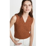 Kandra Rustic Cotton Sweater Vest