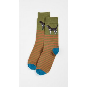 Dog Stripe Socks