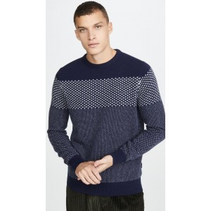 Ridge Crew Neck Sweater