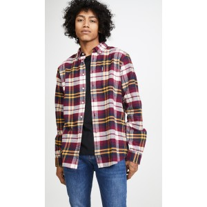 Long Sleeve Plaid Country Check Tailored Shirt
