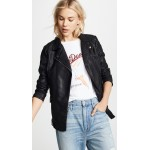 Jack by BB Dakota Cant Be Tamed Vegan Leather Moto Jacket