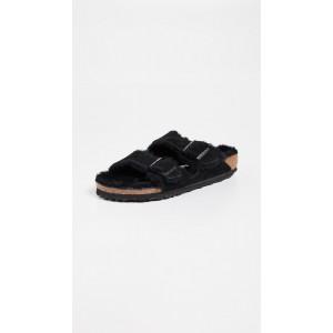 Arizona Shearling Sandals - Narrow