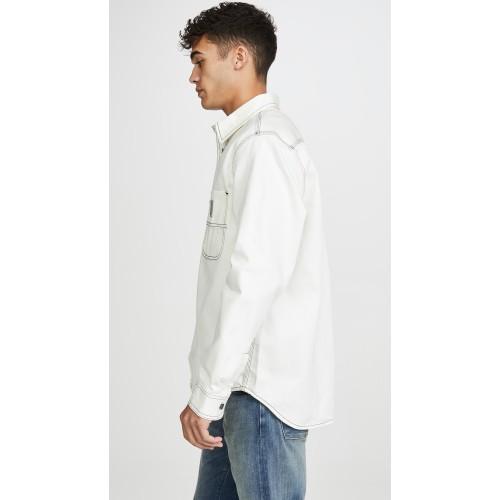 칼하트 Chalk Shirt Jacket