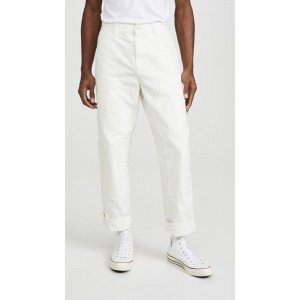 Aged Canvas Double Knee Pants