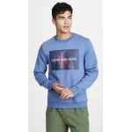 EDI Box Monogram Crew Neck Sweatshirt