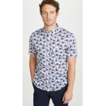 Short Sleeve Button Down Baja Blossom Shirt