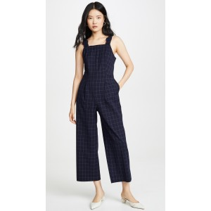 Self Buckle Jumpsuit