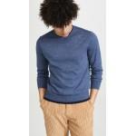 Double Hem Crew Sweater