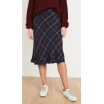 Plaid Bias Skirt
