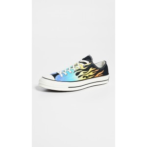 Chuck 70 Archive Flame Print Oxfords