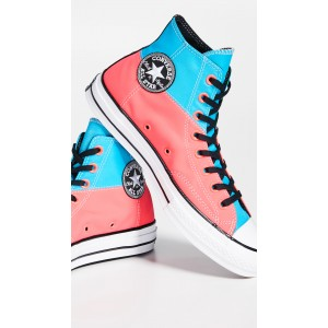 Chuck 70 Neon Hi Top Sneakers