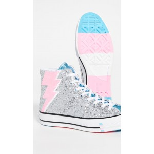 Trans Pride Chuck Taylor 70s High Top Sneakers