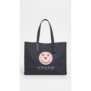 x Yeti Out Smiley Face Tote 42 Bag