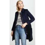 Shearling Wool Coat