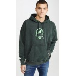 Long Sleeve S-ALBY-ACID Hooded Sweatshirt
