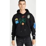 S-Alby-Patches Long Sleeve Hoodie