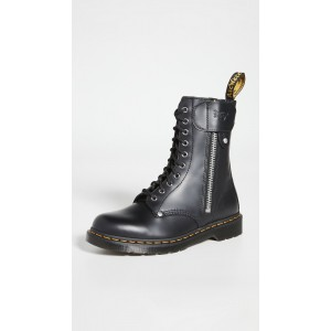 x Schott 1490 10 Eye Boots