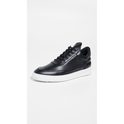 Low Top Ripple Lane Nappa Sneakers