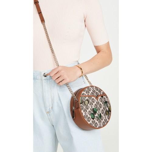 Drum Cherry Spade Crossbody Bag