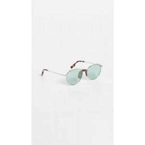 Classic Round Metal Sunglasses