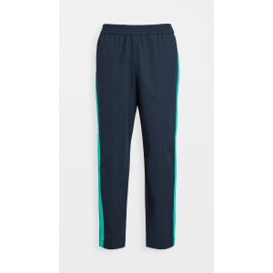 Tapered Cropped Sideband Pants