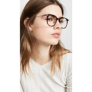 Linear Optical Oversized Wayfarer Glasses