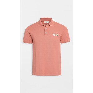 Double Fox Head Polo Shirt