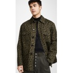 Camo Cells Printed Cotton Drill Jacket