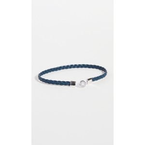 Nexus Braided Leather Bracelet