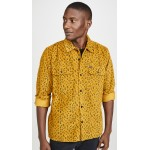 Lounger Leopard Button Down Shirt