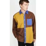 Luger Heavy Twill Colorblock Shirt