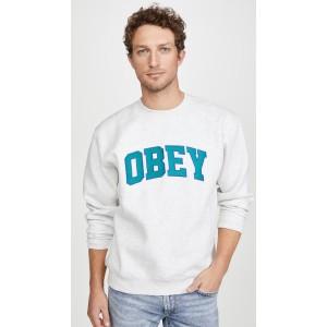Obey Sports II Crew Neck Sweatshirt