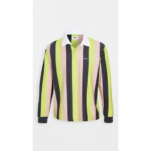 Long Sleeve Side Line Polo Shirt