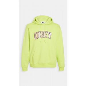 Long Sleeve Obey Hoodie Logo