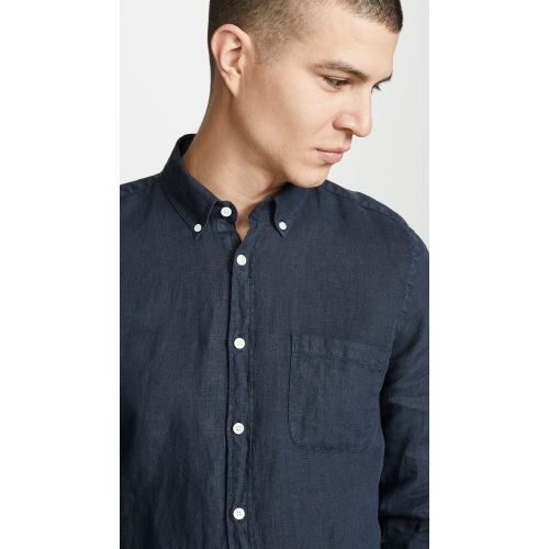 Linen Button Down Shirt