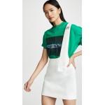 Single Strap Crepe Skirt