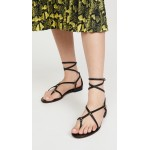 Louise Strappy Flat Sandals