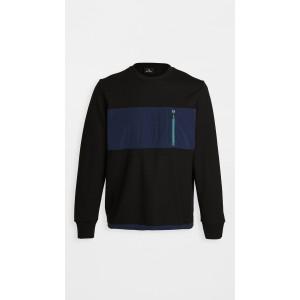 Regular Fit Zipper Pocket Sweatshirt